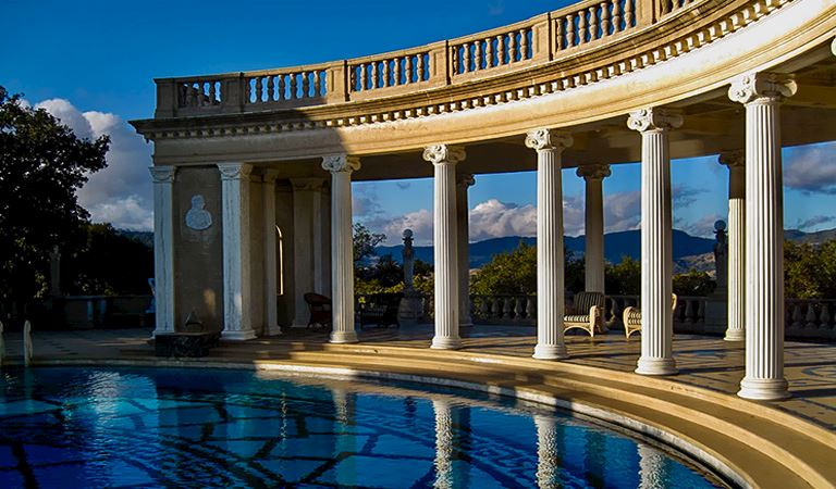 Hearst Castle In Morro Bay, California