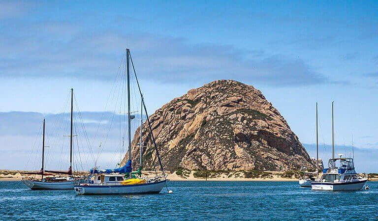 Morro Bay State Park In California