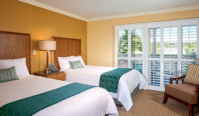 Inn At Morro Bay, California - Pool And Garden View Room